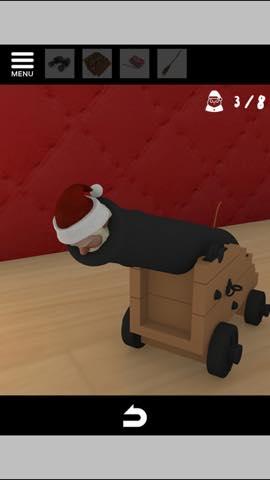 Th 脱出ゲーム Merry Xmas 暖炉とツリーと雪の家  攻略 3780