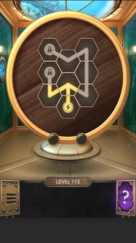 Th 脱出ゲーム  100 Doors Challenge  攻略 115 1