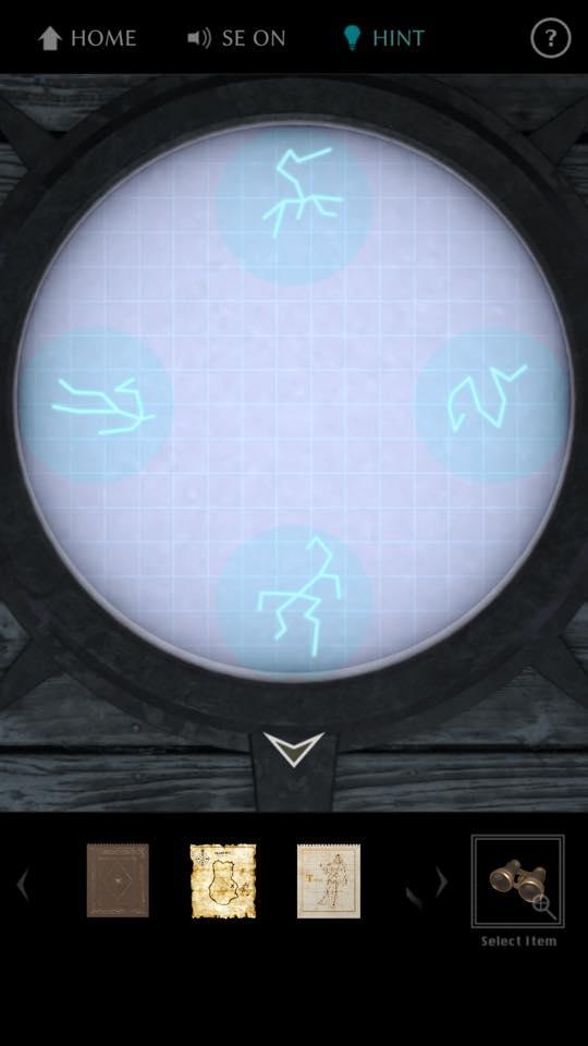 Th 脱出ゲーム The TREASURE 攻略 3658