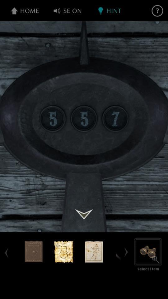 Th 脱出ゲーム The TREASURE 攻略 3662