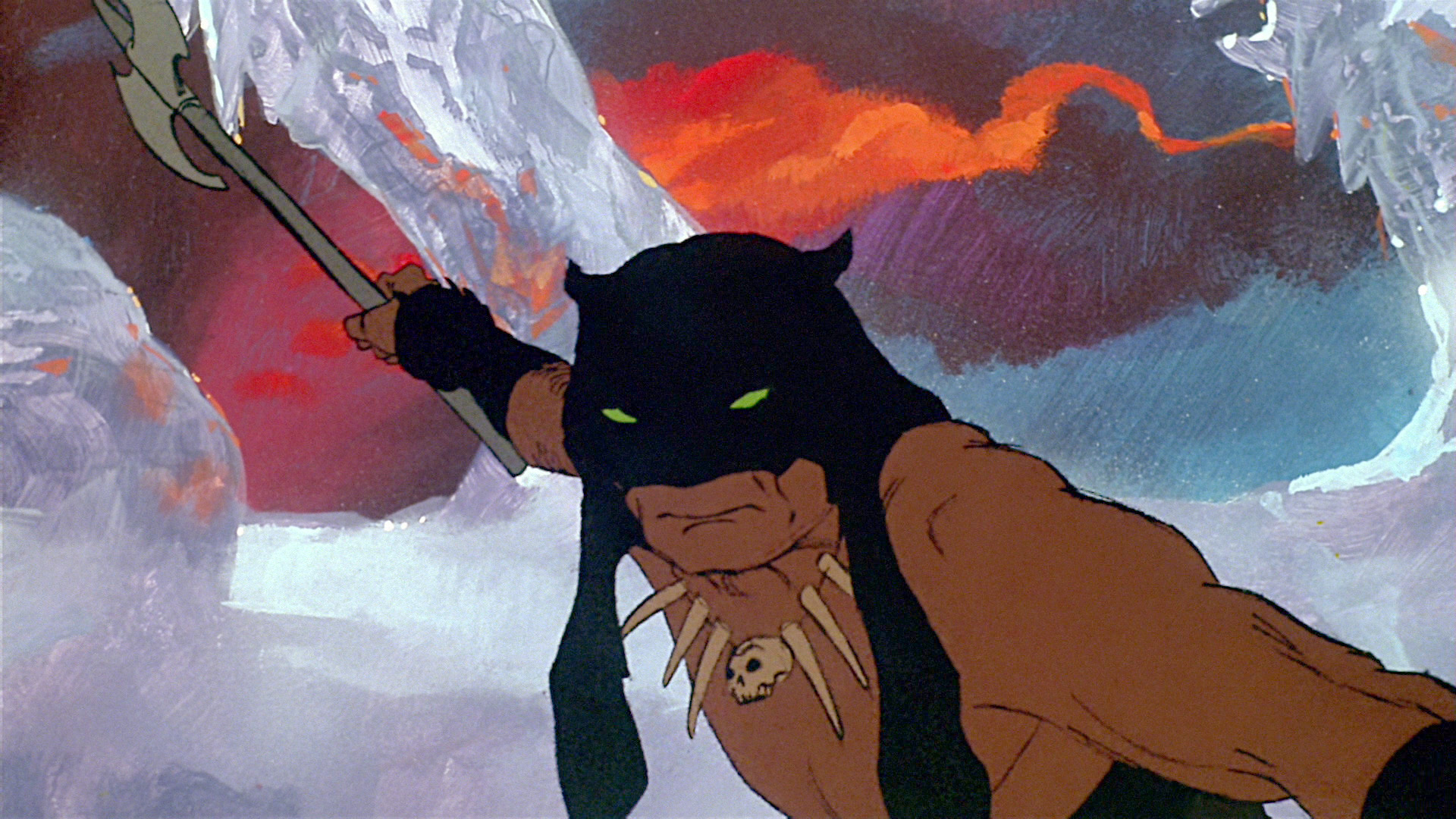 Image result for fire and ice frazetta darkwolf