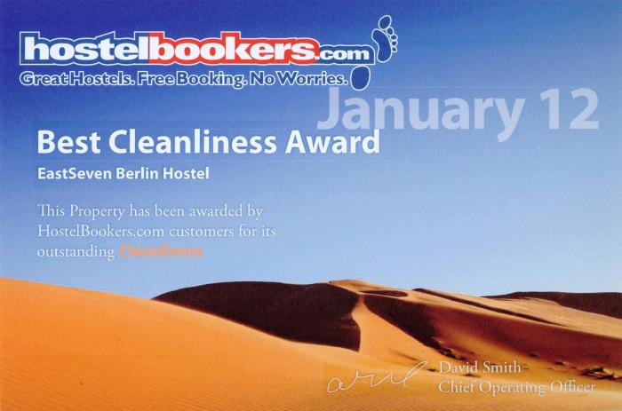 cleanest hostel january 2012