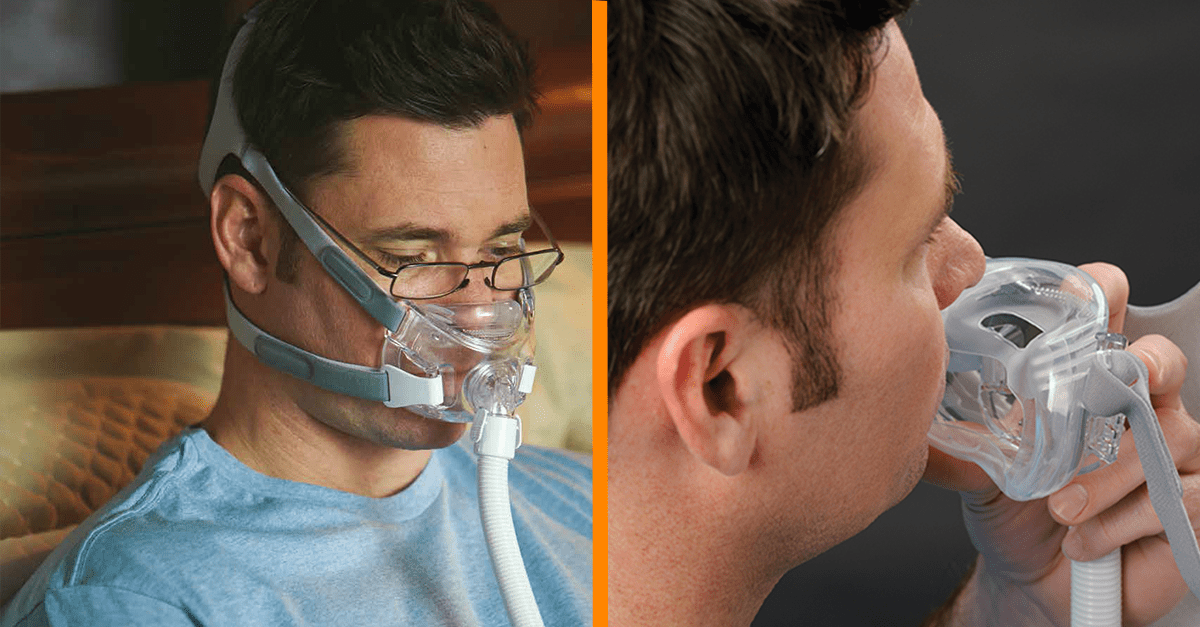 Discover the Amara View CPAP Mask  Easy Breathe