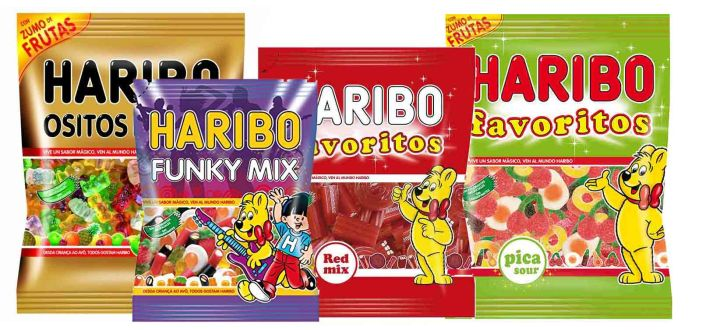 dulces haribo Easy Vending