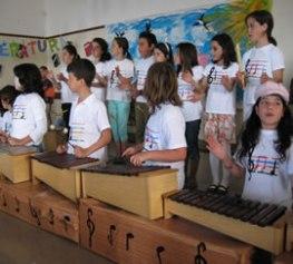 Anabela Machado visita escola da Marinheira