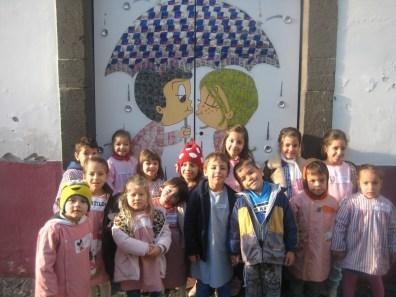 Pré-escolar da escola da Marinheira assistem ao Teatro A Magia dos Brinquedos