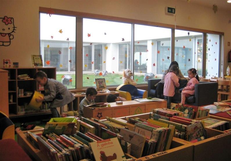 Arquivo e Biblioteca Regional (EB1/PE da Marinheira)