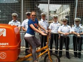 Fleet Week NY BOOSTmobile EBOOST healthy energy drink mix