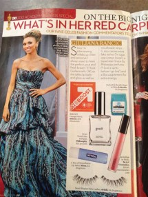 """Giuliana Rancic"" ""red carpet"" EBOOST healthy energy drink mix"