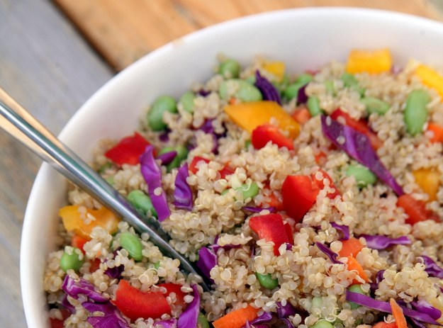 Healthy Food Ginger-quinoa-salad Recipe from POPSugar