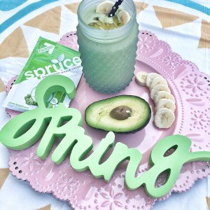 IMG 1522 300x300 - Add a pep to your spring step with a creamy avocado smoothie