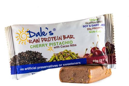 dales raw protein bar cherry pistachio 890bc5b4 6005 452e 83a1 2c5d64645df8 grande - The EBOOST Guide to Healthy Travel Snacks