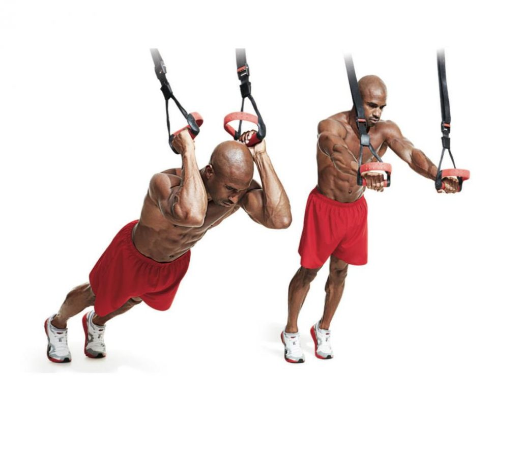 30 best arm exercises trx tricep extension 1024x886 - 5 Exercises to Set Your Arms on Fire