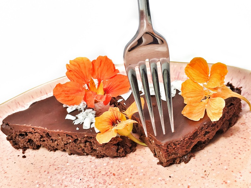 Probiotic Chocolate Brownie featuring EBOOST Culture