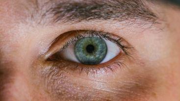 green eye close up