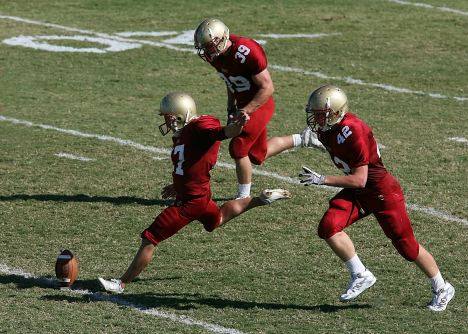 football player exercise
