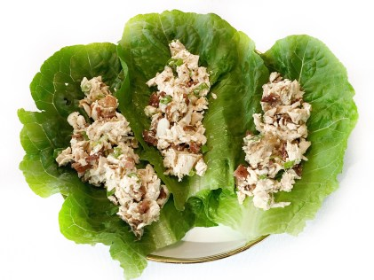 EBOOST Chicken Salad Lettuce Cups