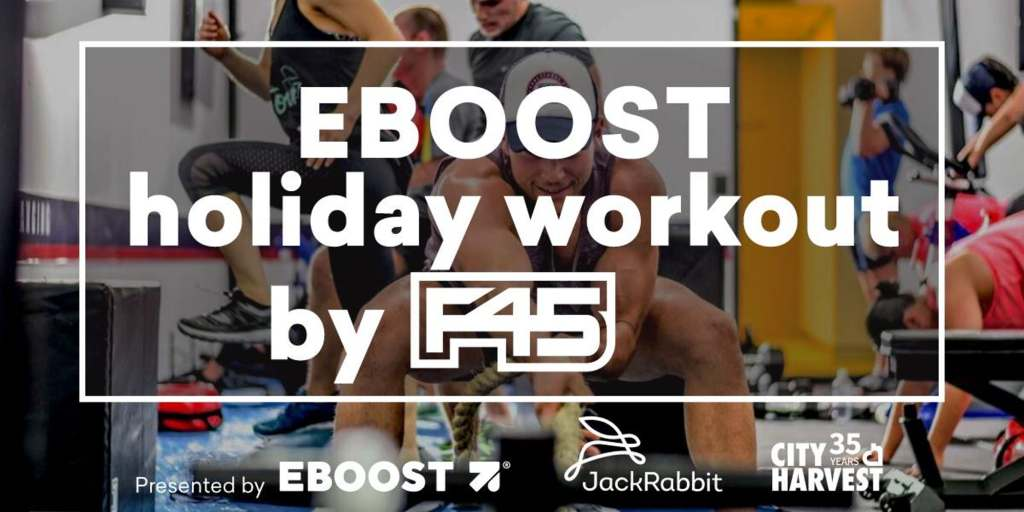 EBOOST Holiday Workout F45 Flatiron