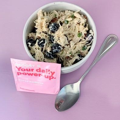 EBOOST whole30 blueberry chicken salad