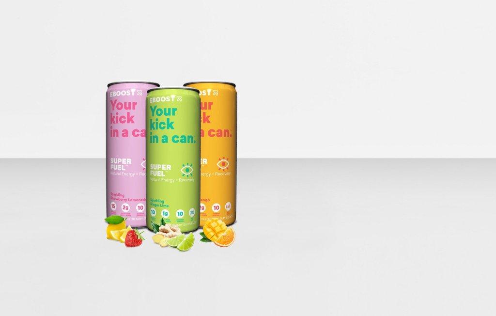 EBOOST SUPER FUEL cans