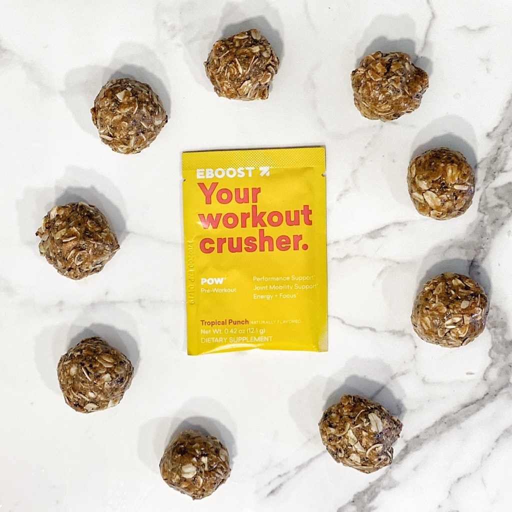 Your workout crusher energy balls
