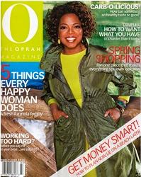 Oprah Magazine EBOOST healthy energy drink mix
