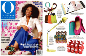 EBOOST Oprah O Magazine healthy energy drink mix