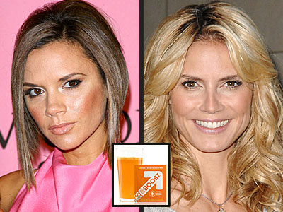EBOOST with Victoria Beckham and Heidi Klum