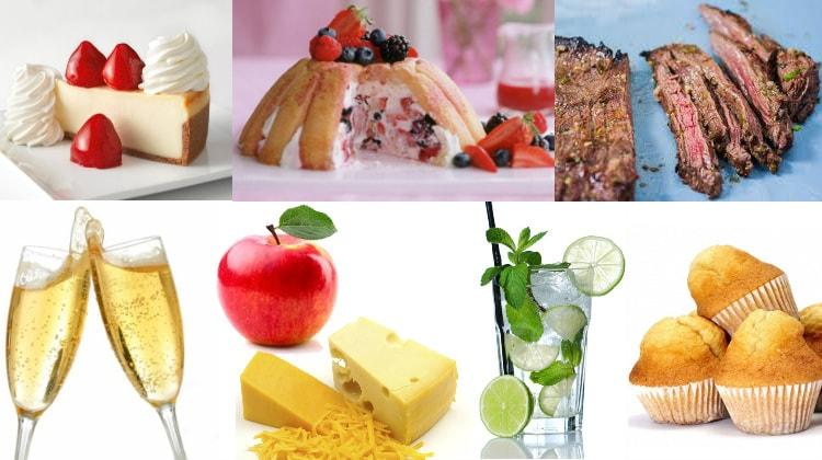 Las comidas y bebidas favoritas de 21 escritores famosos