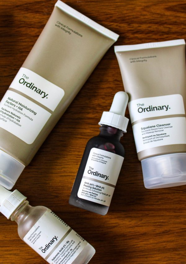 The Ordinary Skincare Routine For Dry Acne-Prone Skin