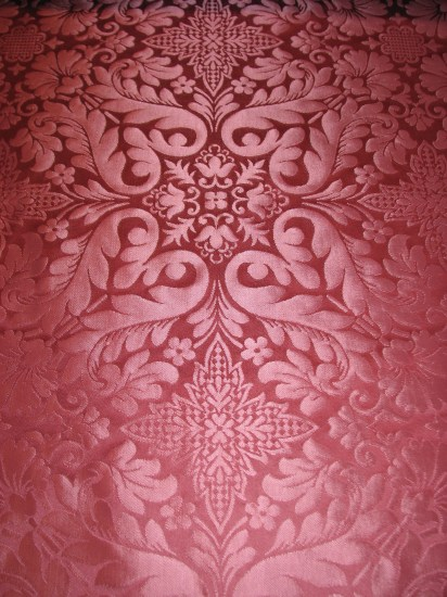 Rose Florence Ecclesiastical Brocade from UK
