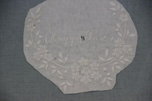 Whitework Embroidery Fragment