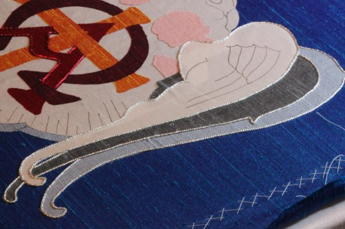 Check Thread Outline complete on Angel Wings