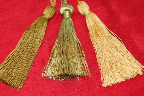 Variations in Gold Tassels