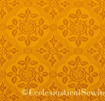 Cloister Liturgical Fabric-Gold