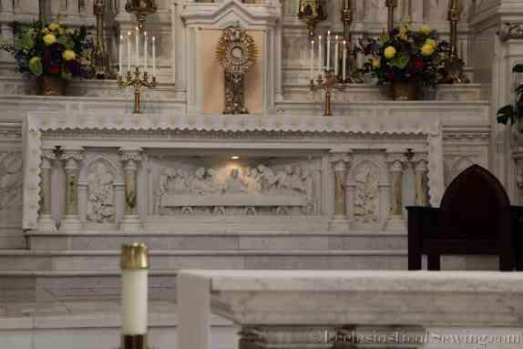Altar Linen Measurements