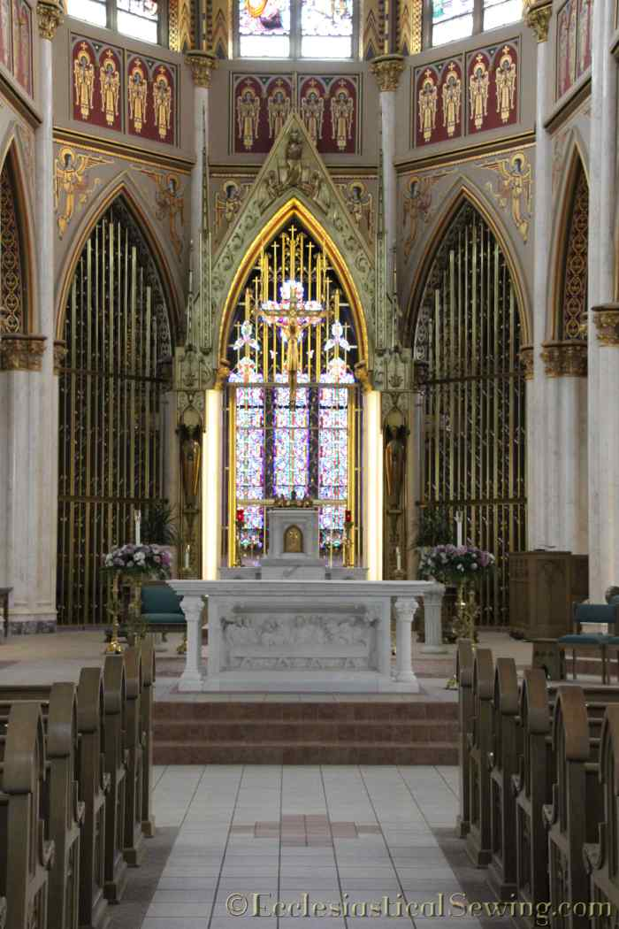 Cathedral of St. Helena Altar