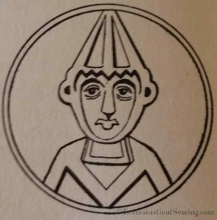 coin-of-pope-benedict-vii-x-century