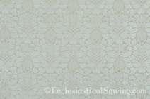 Fairford Ivory Liturgical Brocade Fabric