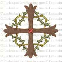 Lent Cross Digital Embroidery Design