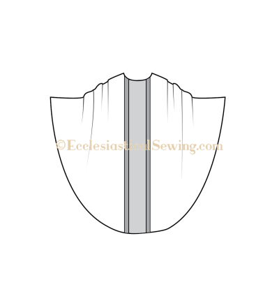 Monastic chasuble pattern