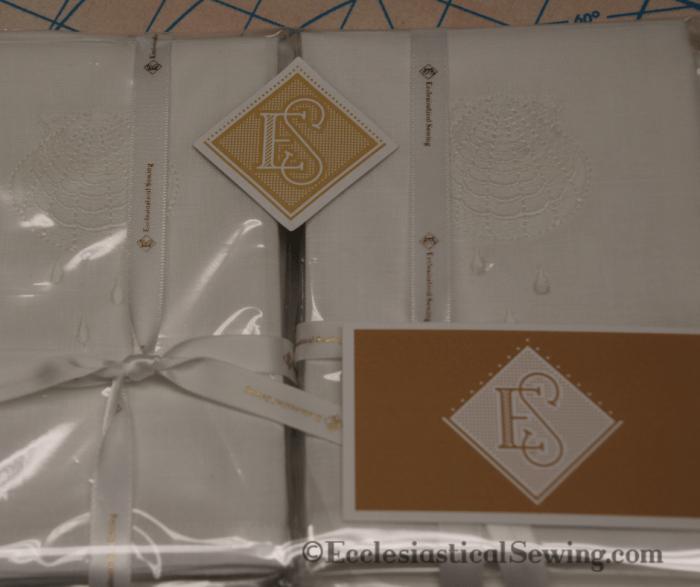 altar linen fabric linens purificators Ecclesiastical Sewing