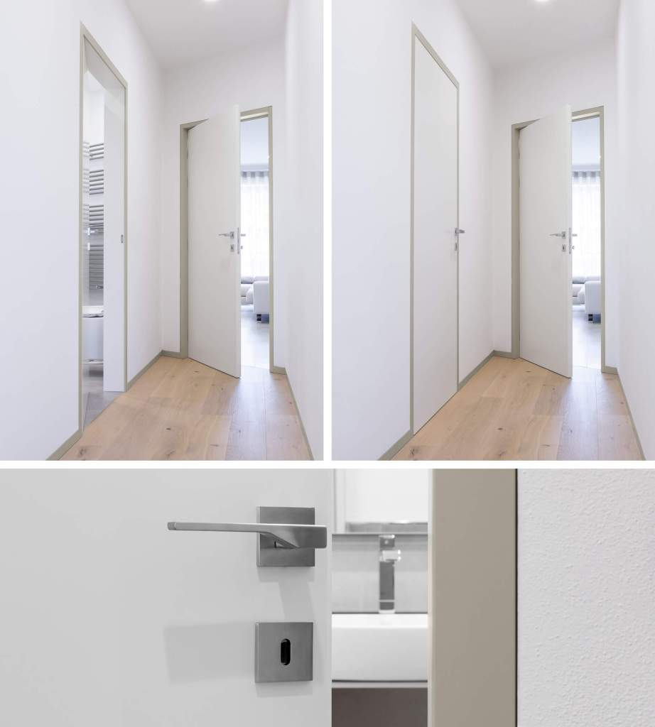 ECLISSE Shodō battente e scorrevole referenza interior design