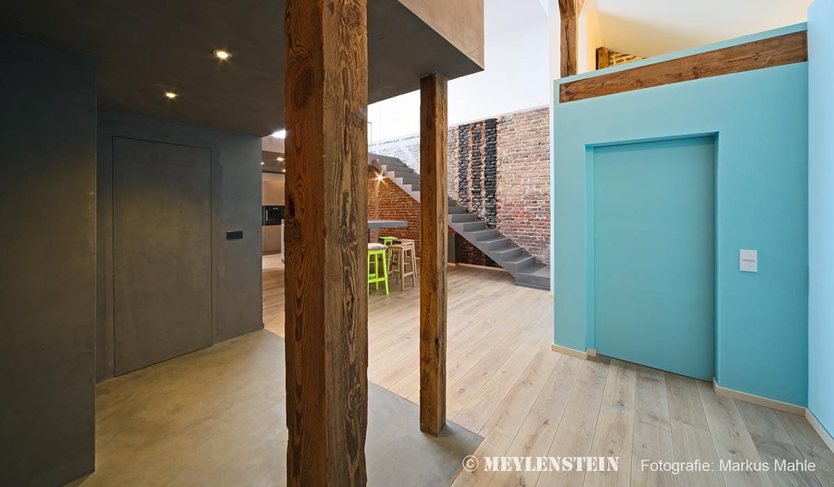 Ristrutturazione casa per trasformarla in loft