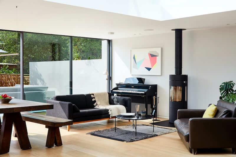 Zona giorno di una casa a Londra