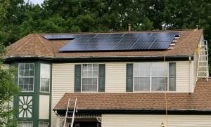 Solar In Action: Curtis in Virginia - 11.3kW Grid-Tied DIY Solar System