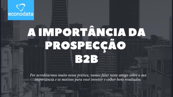 prospecção b2b