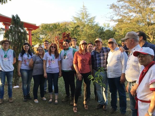 Plantio de Muda de Cerejeira - Ações sustentáveis em eventos