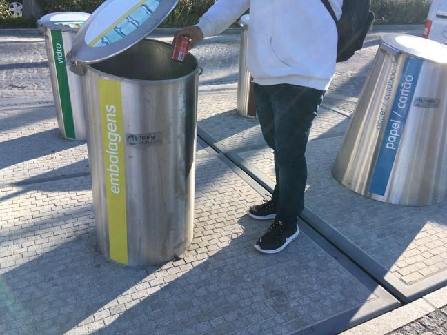 Reciclagem gera benefícios para a coletividade portuguesa