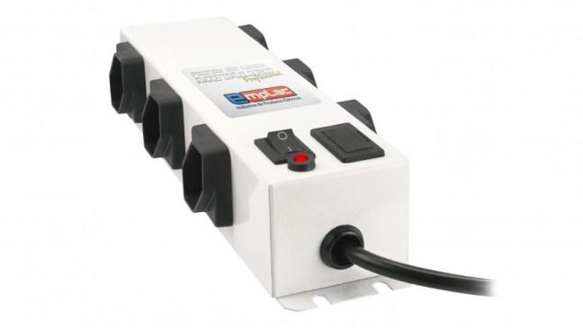 Foto mostra o produto filtro de linha metálico profissional da empresa Emplac